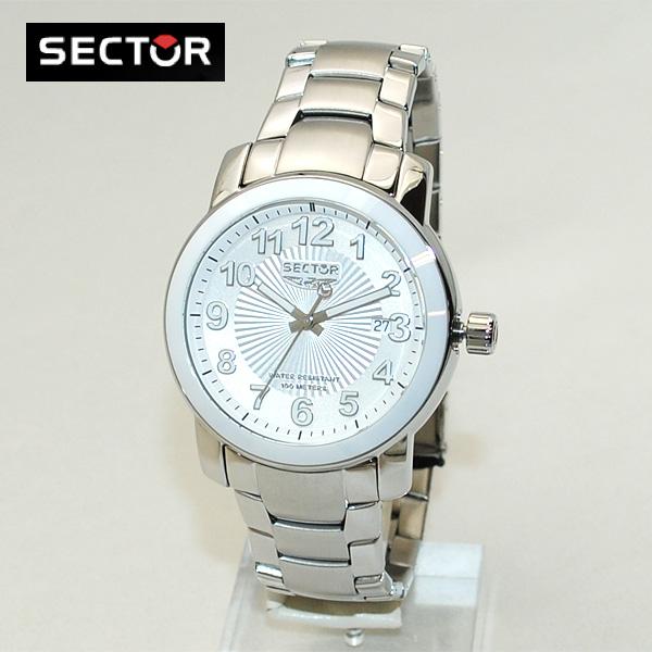 SECTOR (セクター) 腕時計 R3253139045 ブレス ホワイト/シルバー メンズ 時計 ウォッチ 【送料無料(※北海道・沖縄は1,000円)】