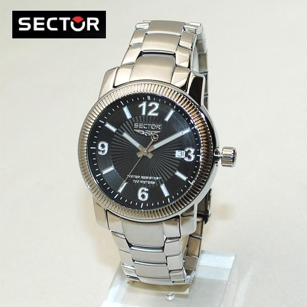 SECTOR (セクター) 腕時計 R3253139025 ブレス ブラック/シルバー メンズ 時計 ウォッチ 【送料無料(※北海道・沖縄は1,000円)】