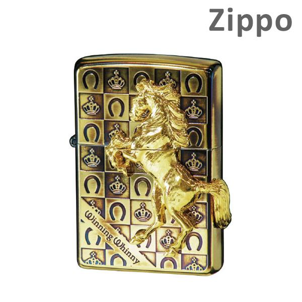 Zippo(ジッポー) ライター [ウイニングウィニー グランドクラウン] GDイブシ ゴールド 【送料無料(※北海道・沖縄は注文不可)】