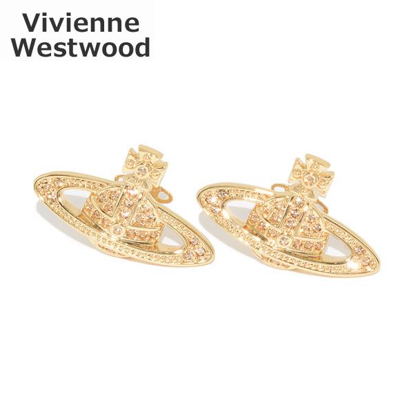 ヴィヴィアンウエストウッド ピアス 62020033 R121 MINI BAS RELIEF EARRINGS ゴールド アクセサリー レディース Vivienne Westwood 【送料無料(※北海道・沖縄は1,000円)】