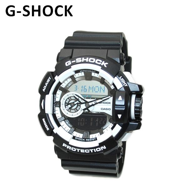 【国内正規品】 CASIO(カシオ) G-SHOCK(Gショック) GA-400-1AJF 時計 腕時計 【送料無料(※北海道・沖縄は1,000円)】