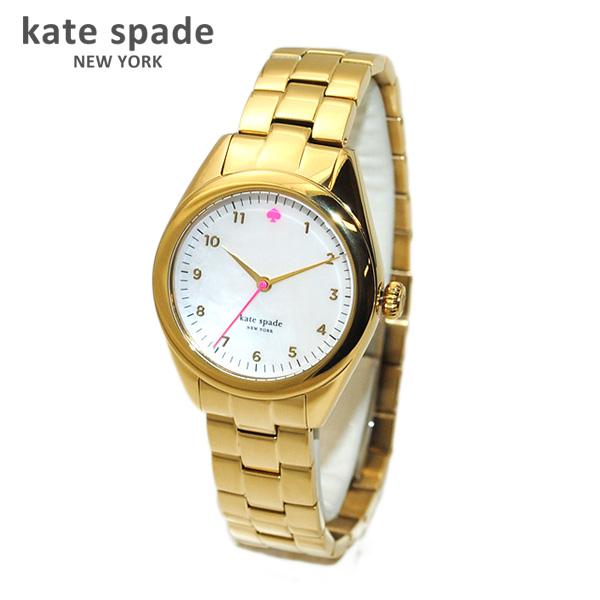 kate spade (ケイトスペード) 時計 腕時計 1YRU0027 ゴールド/パールホワイト/ピンク Seaport(シーポート) ブレス レディース 【送料無料(※北海道・沖縄は1,000円)】