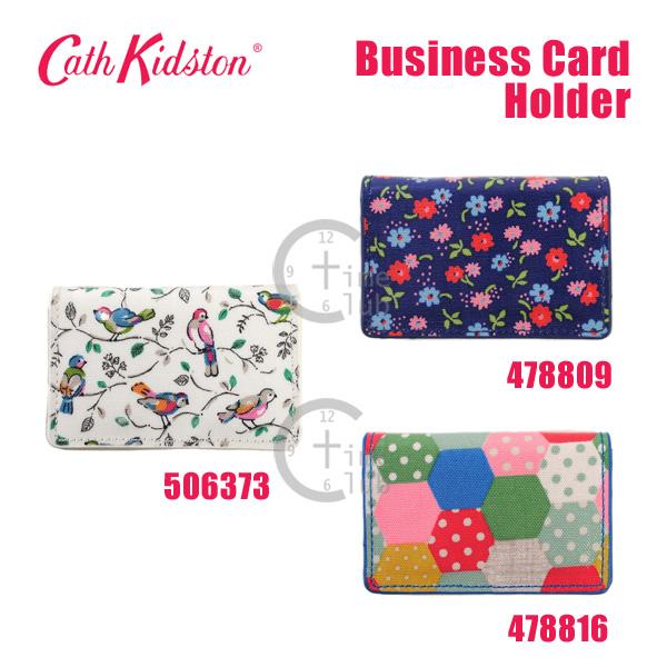 CathKidston キャスキッドソン 名刺入れ カードケース ウォレット Cath Kidston カード入れ Business Card 花柄 478809 478816 豪華な レディース ランキングTOP10 506373 Holder 鳥 ビジネス カードホルダー