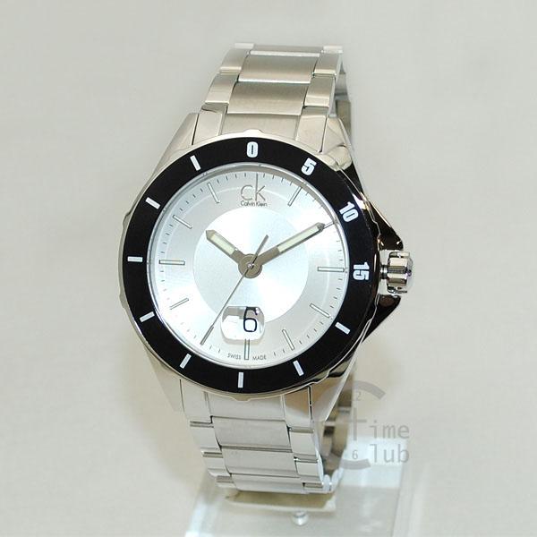 Calvin Klein CK (カルバンクライン) 時計 腕時計 K2W21X.46 K2W21X46 Play プレイ ブレス シルバー メンズ ウォッチ クォーツ 【送料無料(※北海道・沖縄は1,000円)】