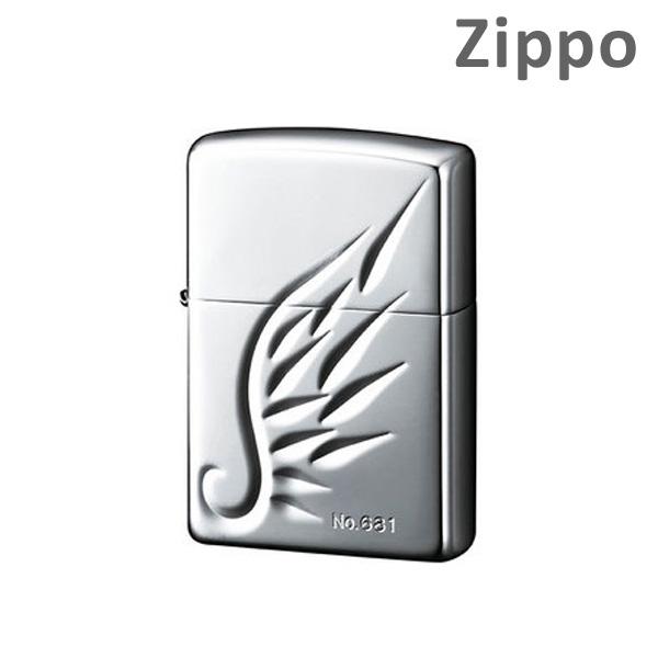 Zippo ライター ジッポー スターリング/V-WING/スターリングシルバー/V刃彫刻/ウイング/シリアルナンバー/ZIPPO/ジッポ/ライター 【送料無料(※北海道・沖縄は注文不可)】
