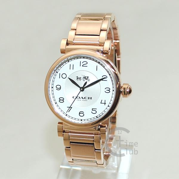 COACH (コーチ) 腕時計 14502395 ブレス ピンクゴールド レディース 時計 ウォッチ 【送料無料(※北海道・沖縄は1,000円)】