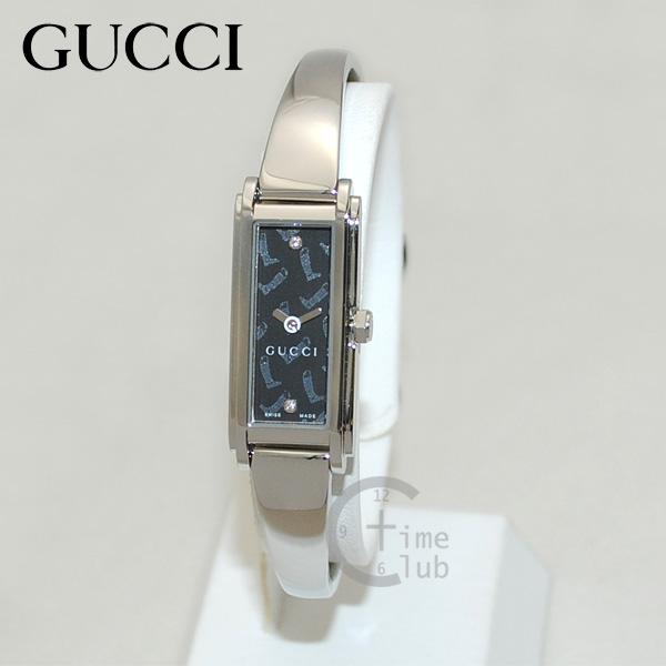 GUCCI(グッチ) 時計 腕時計 YA109505 シルバー/ブラック レディース バングル 【送料無料(※北海道・沖縄は1,000円)】