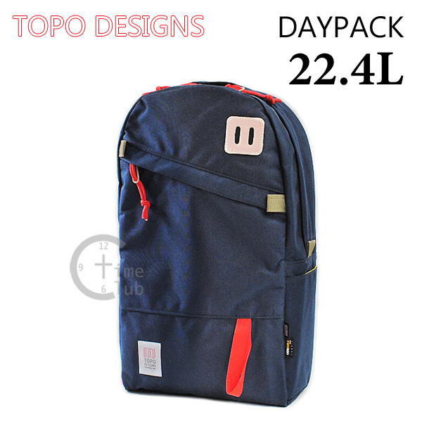 TOPO DESIGNS (トポ デザイン) バッグ DAYPACK 22.4L TDDP014NV バックパック パソコン収納 リュック ネイビー ブルー 青 コーデュラナイロン メンズ レディース 【送料無料(※北海道・沖縄は1,000円)】