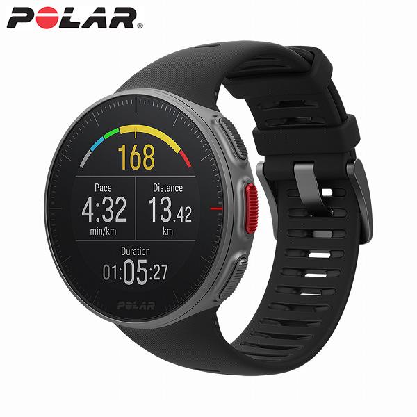【国内正規品】 ポラール スマートウォッチ VANTAGE V BK ブラック メンズ レディース 腕時計 POLAR 【送料無料(※北海道・沖縄は1,000円)】