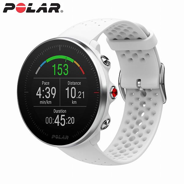 【国内正規品】 ポラール スマートウォッチ VANTAGE M WH ホワイト メンズ レディース 腕時計 POLAR 【送料無料(※北海道・沖縄は1,000円)】