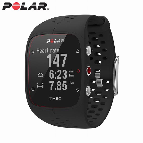【国内正規品】 ポラール スマートウォッチ M430 BK ブラック メンズ レディース 腕時計 POLAR 【送料無料(※北海道・沖縄は1,000円)】