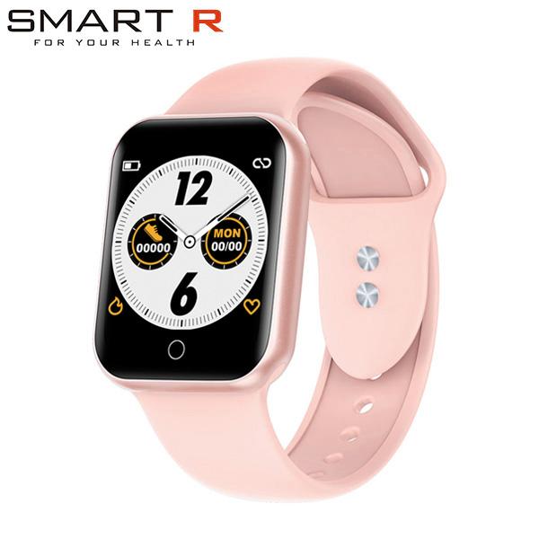 スマートウォッチ iphone対応 Android対応 時計 国内正規品 SMART R NY07 PK ピンク 限定価格セール 送料無料 メンズ レディース 腕時計 スマートR 沖縄は配送不可 ※北海道 商い