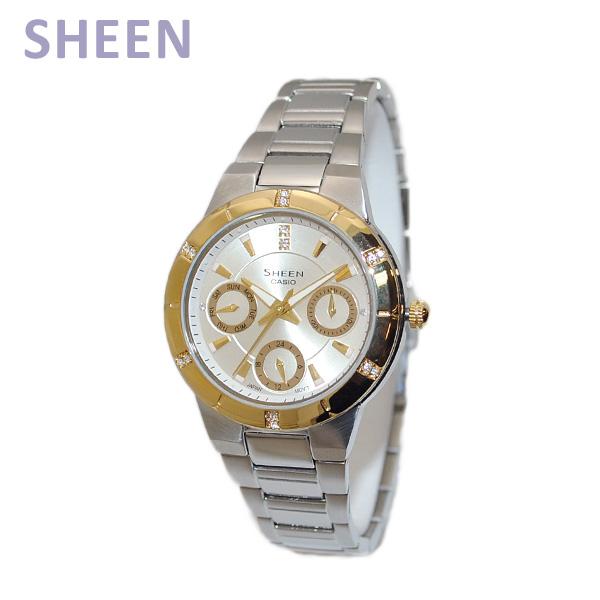 CASIO(カシオ) SHEEN(シーン) SHE-3800SG-7AEF 時計 腕時計 海外モデル 【送料無料(※北海道・沖縄は1,000円)】
