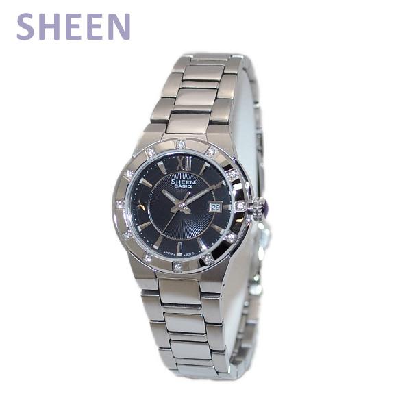 CASIO(カシオ) SHEEN(シーン) SHE-4500D-1AEF 時計 腕時計 海外モデル 【送料無料(※北海道・沖縄は1,000円)】