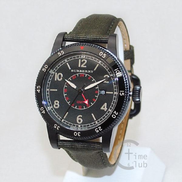 BURBERRY バーバリー 時計 腕時計 BU7855 ブラック/カーキ メンズ 【送料無料(※北海道・沖縄は1,000円)】