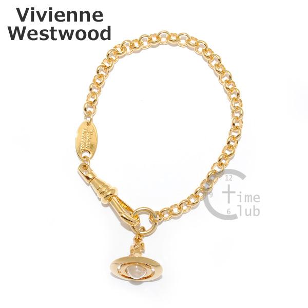 Vivienne Westwood (ヴィヴィアンウエストウッド) ブレスレット 1505-14-01 PETITE ORB ゴールド オーブ アクセサリー レディース 【送料無料(※北海道・沖縄は1,000円)】