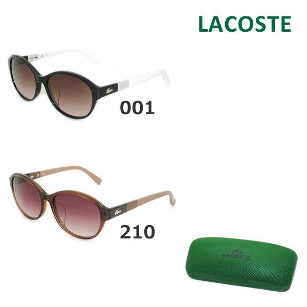【国内正規品】 LACOSTE ラコステ サングラス L808SA 001 210 メンズ レディース アジアンフィット 【送料無料(※北海道・沖縄は1,000円)】