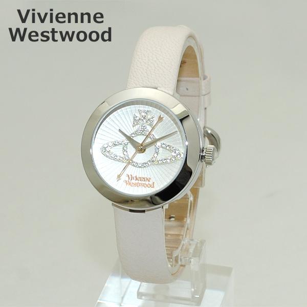 Vivienne Westwood (ヴィヴィアンウエストウッド) 腕時計 VV150WHCM ホワイト レザー/シルバー 時計 レディース ヴィヴィアン 【送料無料(※北海道・沖縄は1,000円)】