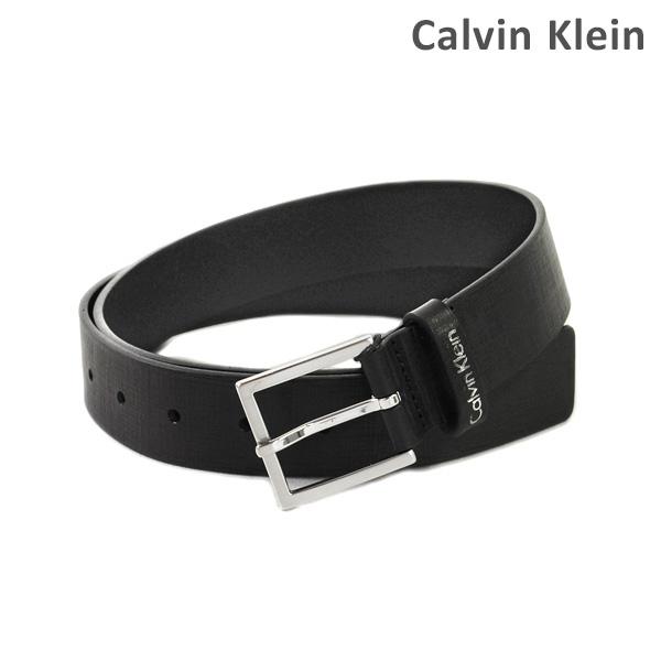 カルバンクライン ベルト Calvin Klein K50K502401 メンズ レザー シルバー/ブラック 海外正規品 【送料無料(※北海道・沖縄は1,000円)】
