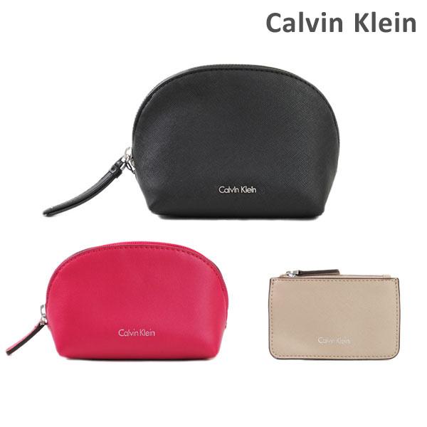 カルバンクライン ポーチ Calvin Klein K60K602555 001 化粧ポーチ 3点セット レディース PVC 海外正規品 【送料無料(※北海道・沖縄は1,000円)】