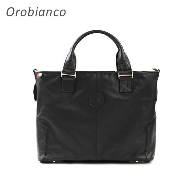 OROBIANCO オロビアンコ Kerde-A NERO トートバッグ ショルダーバッグ メンズ 【送料無料(※北海道・沖縄は1,000円)】