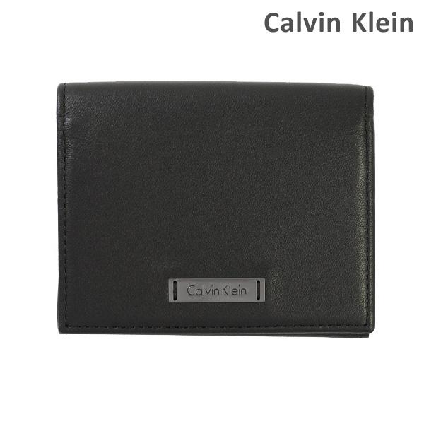 カルバンクライン カードホルダー カードケース Calvin Klein K50K502456-001 ANDR3W BUSINESS CARD HOLODER レザー 2017SS メンズ レディース 【送料無料(※北海道・沖縄は1,000円)】