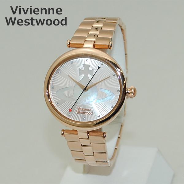 Vivienne Westwood (ヴィヴィアンウエストウッド) 腕時計 VV184LPKRS 時計 ピンクゴールド ブレス レディース ヴィヴィアン 【送料無料(※北海道・沖縄は1,000円)】