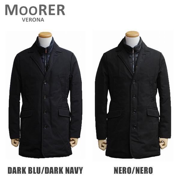 MOORER ムーレー ダウンコート メンズ DOLLAR FX DARK BLU/DARK NAVY NERO/NERO ダウンジャケット 【送料無料(※北海道・沖縄は1,000円)】