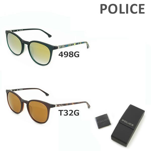 【国内正規品】 POLICE (ポリス) サングラス SPL343I 498G T32G メンズ アジアンフィット UVカット 【送料無料(※北海道・沖縄は1,000円)】