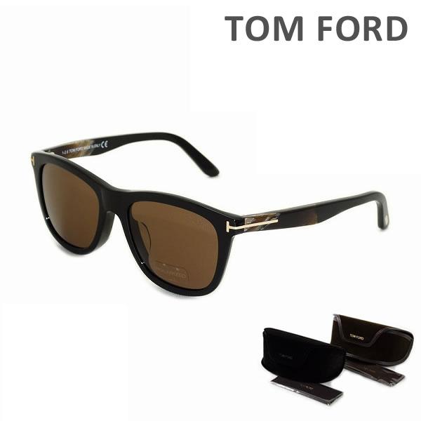 トムフォード サングラス FT0500F 01H POLARIZED TOM FORD メンズ 正規品 アジアンフィット 偏光レンズ TF500-F Andrew UVカット 【送料無料(※北海道・沖縄は1,000円)】