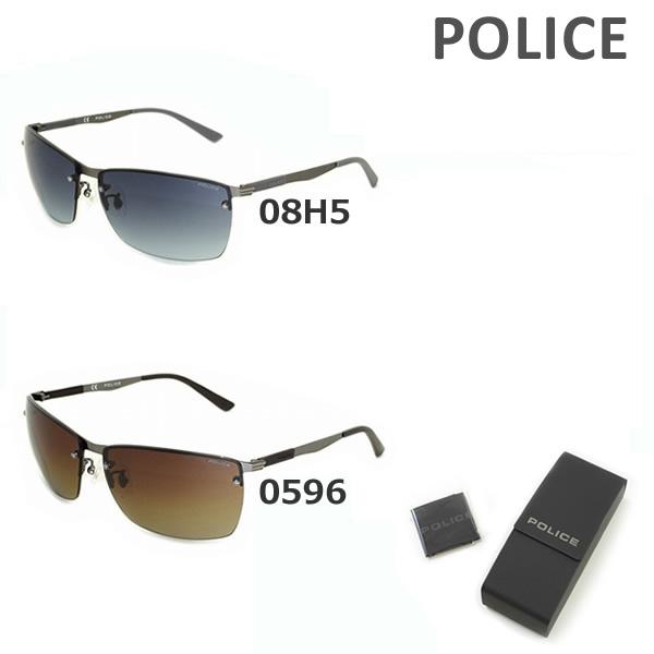 【国内正規品】 POLICE (ポリス) サングラス SPL540I 08H5 0596 メンズ UVカット 【送料無料(※北海道・沖縄は1,000円)】