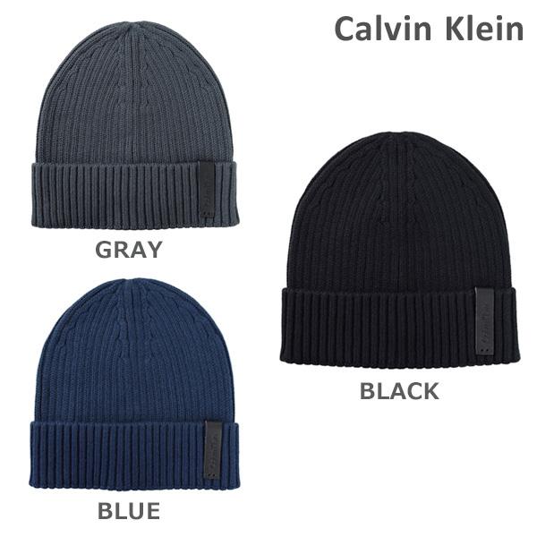 カルバンクライン 帽子 ニットキャップ Calvin Klein K50K501334 メンズ 2017FW 【送料無料(※北海道・沖縄は1,000円)】