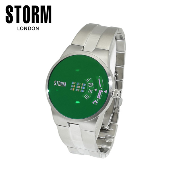 STORM LONDON(ストームロンドン) 時計 腕時計 TRION 47210G グリーン メンズ 国内正規品【送料無料(※北海道・沖縄は1,000円)】