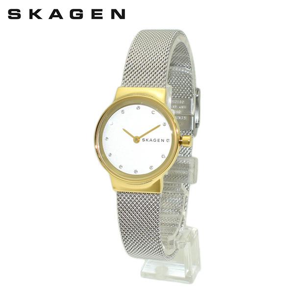 スカーゲン 腕時計 SKW2666 SKAGEN 時計 レディース ウォッチ シルバー/ゴールド ブレス 【送料無料(※北海道・沖縄は1,000円)】