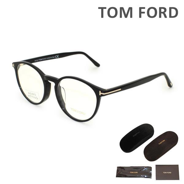 トムフォード メガネ 眼鏡 フレーム FT5524F-001 TOM FORD メンズ 正規品 アジアンフィット TF5524F【送料無料(※北海道・沖縄は1,000円)】