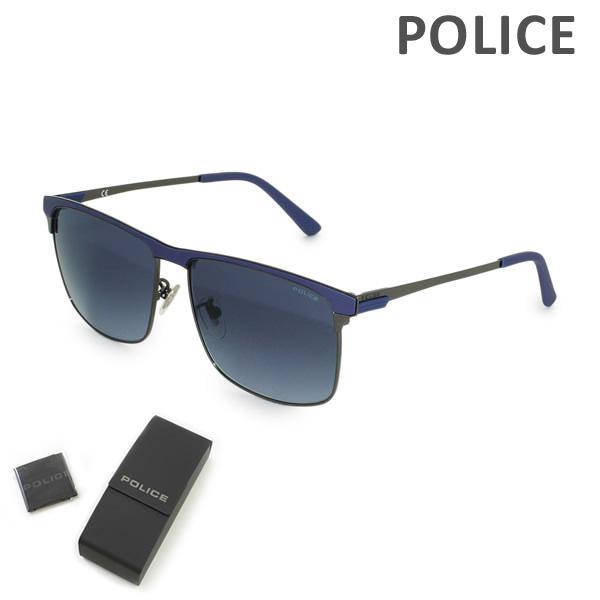 【国内正規品】POLICE (ポリス) サングラス SPL570N-0568 メンズ UVカット 【送料無料(※北海道・沖縄は1,000円)】
