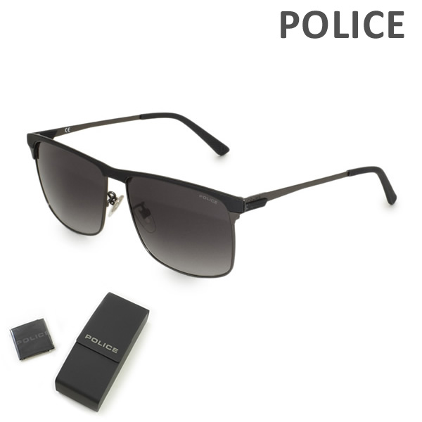 【国内正規品】POLICE (ポリス) サングラス SPL570N-0627 メンズ UVカット 【送料無料(※北海道・沖縄は1,000円)】