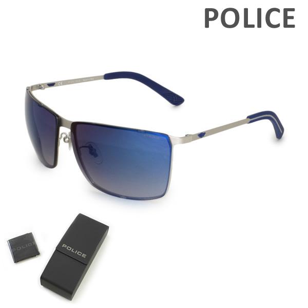 【国内正規品】POLICE (ポリス) サングラス SPL639G-581X メンズ UVカット 【送料無料(※北海道・沖縄は1,000円)】