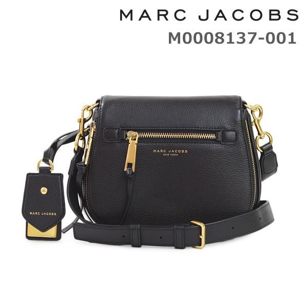 マークジェイコブス ショルダーバッグ M0008137-001 BLACK レディース MARC JACOBS 18SS 【送料無料(※北海道・沖縄は1,000円)】