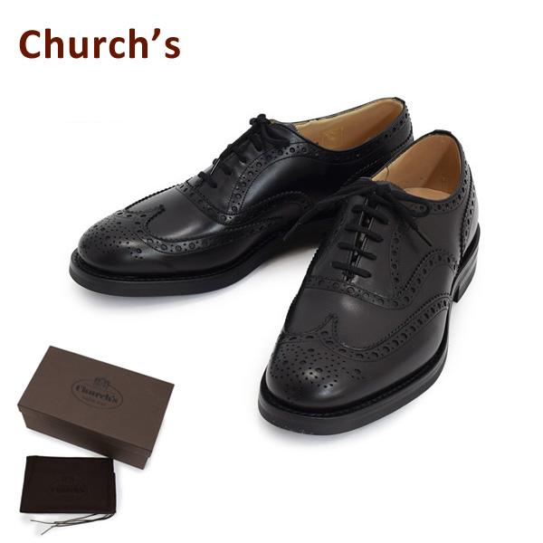 チャーチ メンズ EEC003-9WF-F0AAB Church's BURWOOD R ブラック シューズ 靴 【送料無料(※北海道・沖縄は1,000円)】