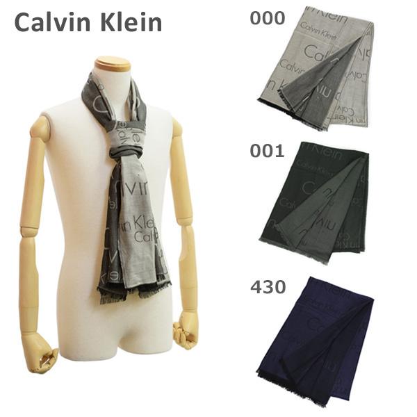 カルバンクライン マフラー メンズ K50K503709 000 001 430 Calvin Klein 【送料無料(※北海道・沖縄は1,000円)】