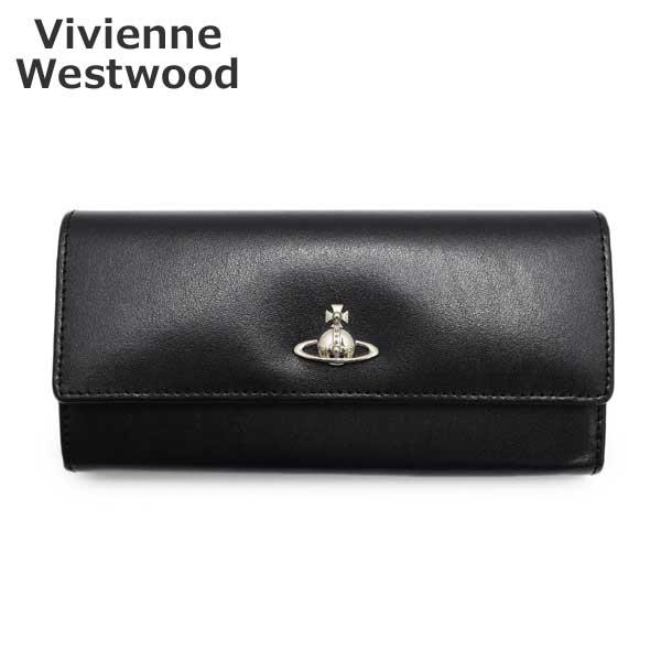ヴィヴィアンウエストウッド 財布 51060022-40525-N401 ブラック 長財布 レディース Vivienne Westwood 【送料無料(※北海道・沖縄は1,000円)】