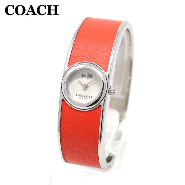 コーチ 腕時計 レディース 14502733 COACH SCOUT スカウト シルバー/レッド バングル 時計 ウォッチ 【送料無料(※北海道・沖縄は1,000円)】
