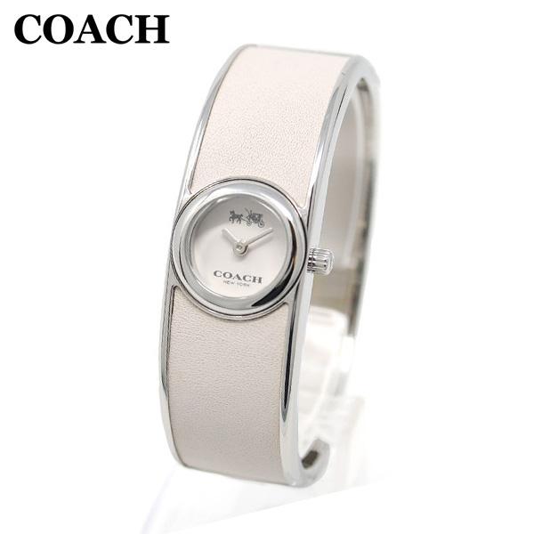コーチ 腕時計 レディース 14502740 COACH SCOUT スカウト シルバー/ホワイト バングル 時計 ウォッチ 【送料無料(※北海道・沖縄は1,000円)】