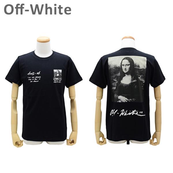 オフホワイト Tシャツ モナリザ ブラック MONNALISA S/S SLIM TEE OMAA027 S19-1850051020 Off-White 【送料無料(※北海道・沖縄は1,000円)】