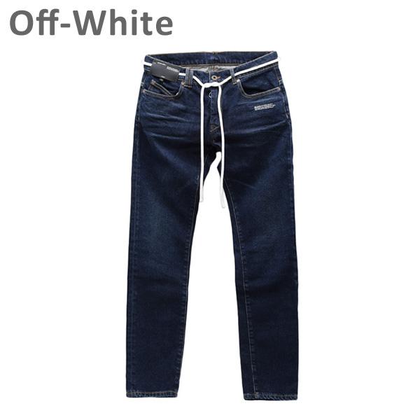 オフホワイト スキニー メンズ デニム ジーンズ SKINNY REGULAR LENGTH OMYA002 S19 C320258501 Off-White 【送料無料(※北海道・沖縄は1,000円)】