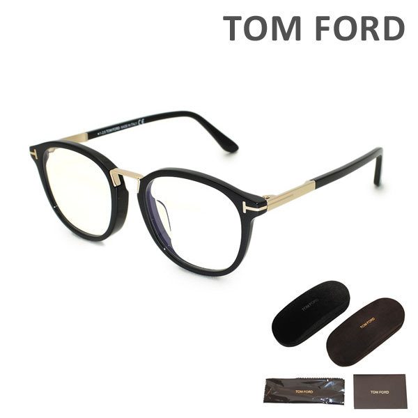 トムフォード メガネ 伊達眼鏡 フレーム FT5555F-001 TOM FORD メンズ 正規品 アジアンフィット TF5555【送料無料(※北海道・沖縄は1,000円)】