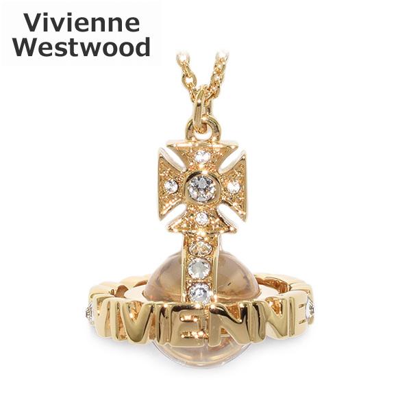 ヴィヴィアンウエストウッド ペンダント ネックレス 752572B/2 PAISLEY SMALL ORB ゴールド オーブ アクセサリー レディース Vivienne Westwood 【送料無料(※北海道・沖縄は1,000円)】