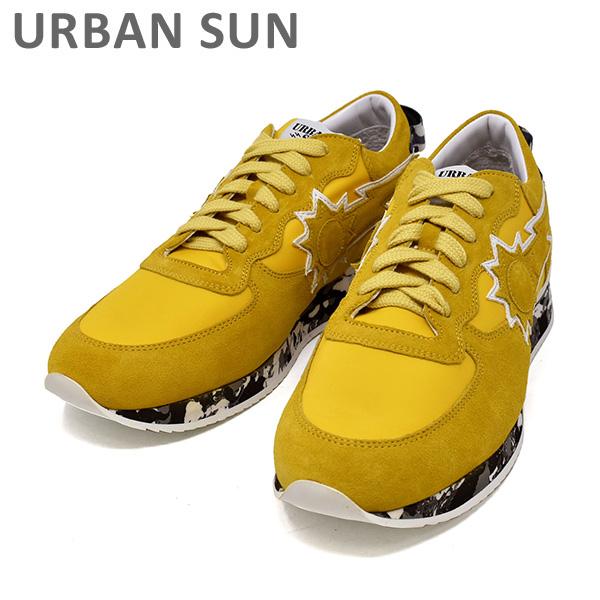 アーバンサン スニーカー ANDRE 62 イエロー/カモ URBAN SUN メンズ シューズ 靴 【送料無料(※北海道・沖縄は1,000円)】