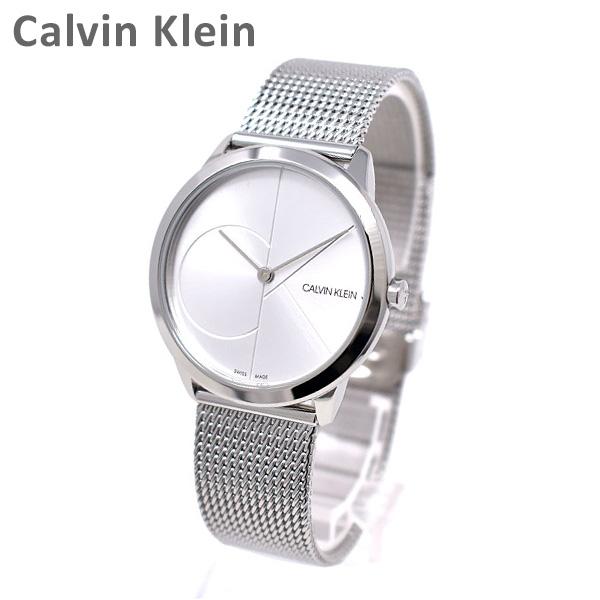Calvin Klein CK カルバンクライン お気にいる 時計 腕時計 ウォッチ K3M2212Z MINIMAL ※北海道 レディース 2020 新作 クォーツ 送料無料 沖縄は配送不可 シルバー ミニマル ブレス